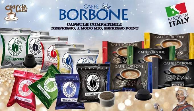 Capsule caffè Borbone