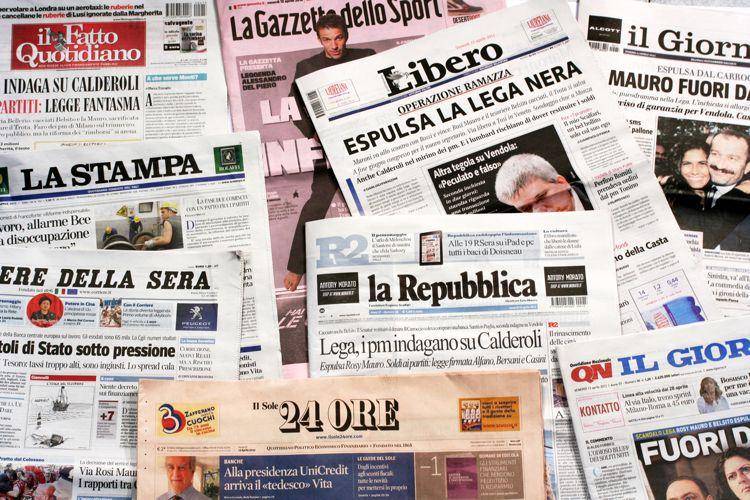Stampe e periodici italiani