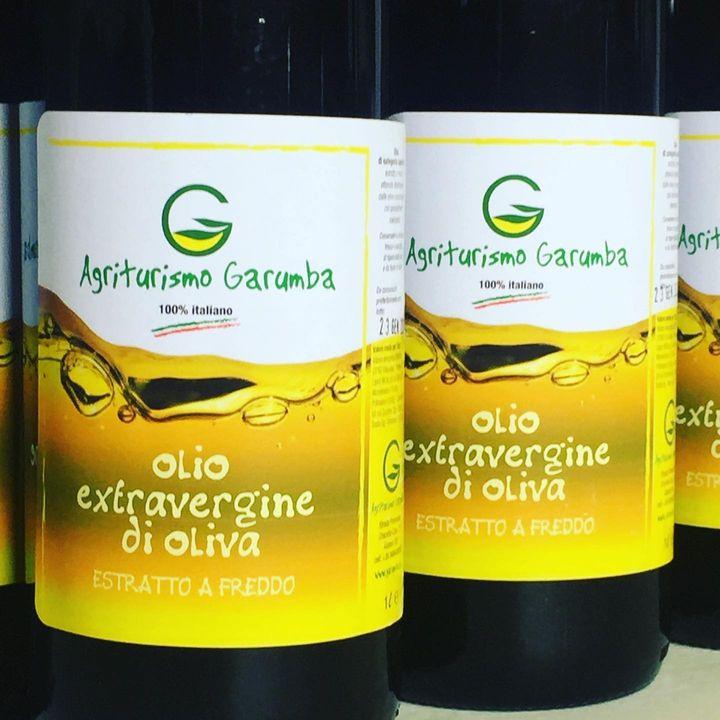 Olio extravergine di oliva dell'agriturismo Garumba