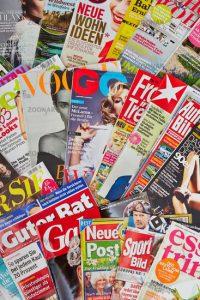Magazine stranieri